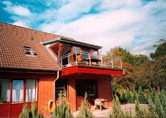 Gaube Mit Balkon Gaube Mit Balkon Archive Zimmerei Bernd Clausen